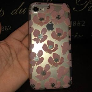 Accessories - Clear floral iPhone case